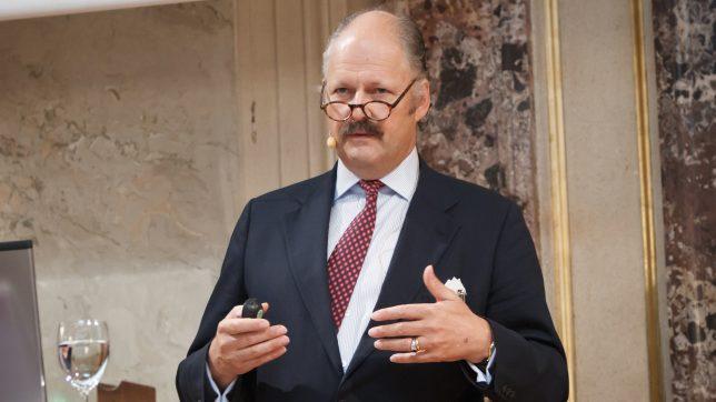 AVCO-Präsident Rudolf Kinsky. © AVCO