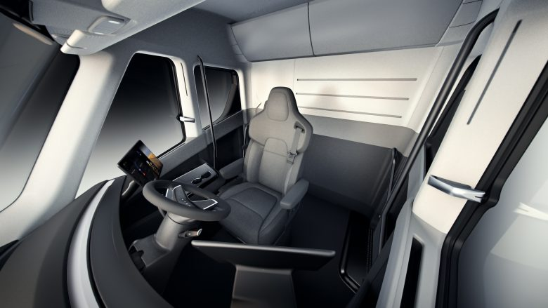 Tesla Semi Truck. © Tesla Motors