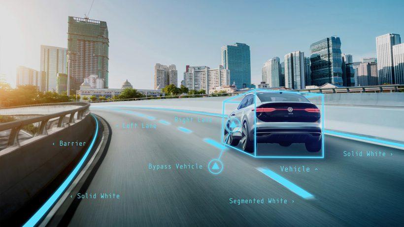 Echtzeitberechnung des Straßenverkehrs. © Volkswagen AG