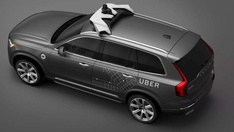 Volvo XC90 soll für Uber fahren. © Uber
