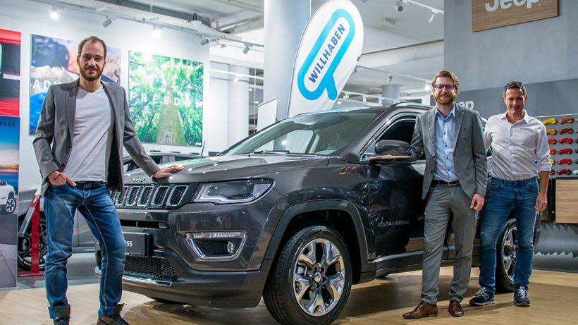 Gelände Ohne Ende Jeep Wirbt Interaktiv Auf Willhaben Trending Topics
