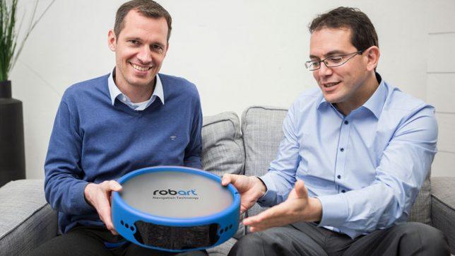 Die Robart-Gründer Harold Artés und Michael Schahpar. © Robart GmbH