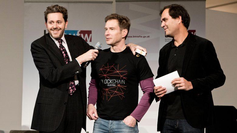 Blockchain Summit an der WU Wien. © BMWFW