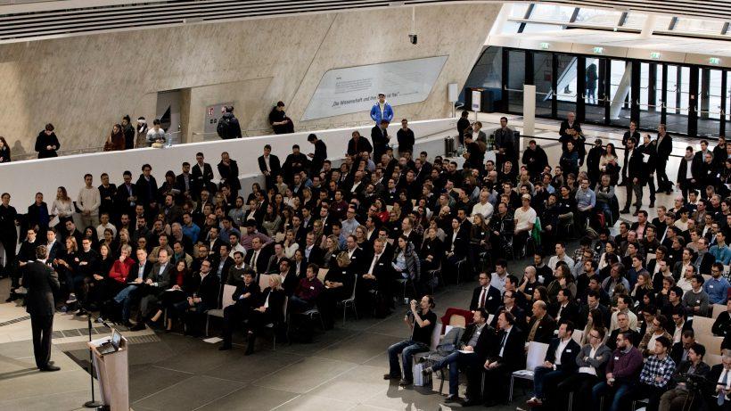 Aula der Wirtschaftsuniversität. © BMWFW