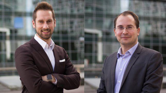 Conda-Gründer Daniel Horak und Paul Pöltner. © Conda