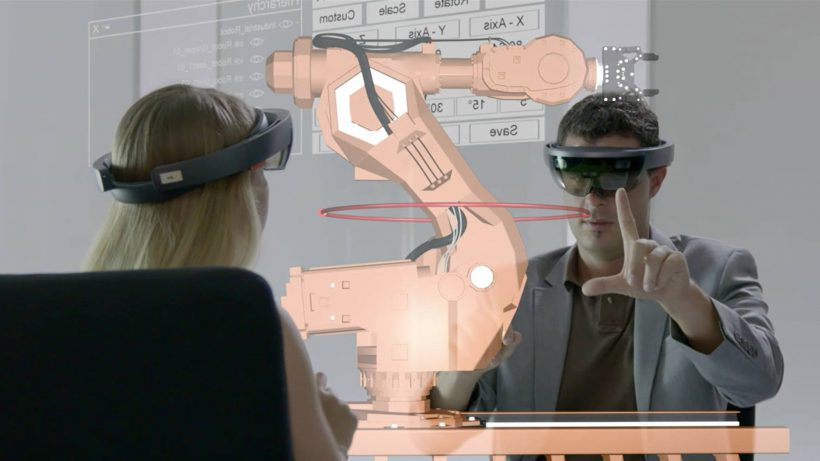 Software für Microsofts HoloLens. © HoloLight