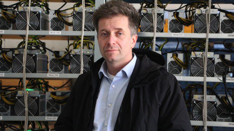 Michael Marcovici, Mitgesellschafter von HydroMiner. © Jakob Steinschaden