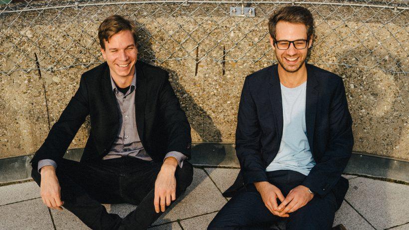 Jakob Steinschaden und Bastian Kellhofer von Trending Topics. © Raffel Stiborek