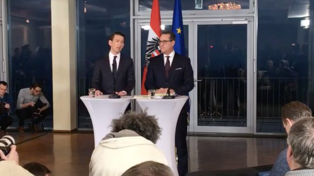 Sebastian Kurz (ÖVP) und Heinz Christian Strache (FPÖ). © ÖVP