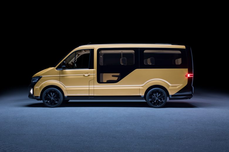 Moia-Fahrzeug bietet Platz für bis zu sechs Fahrgäste. © Moia