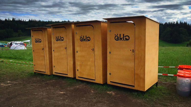 Die öKlo-Toiletten im Einsatz. © öKlo.at