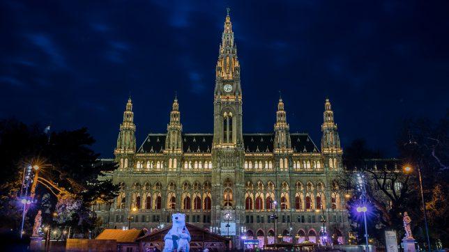 Das Rathaus, Wahrzeichen der Stadt Wien. © Pixabay