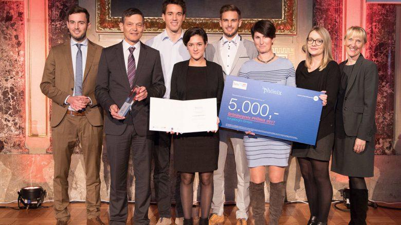Surgebright erhielt heuer den Phönix Preis. © Surgebright