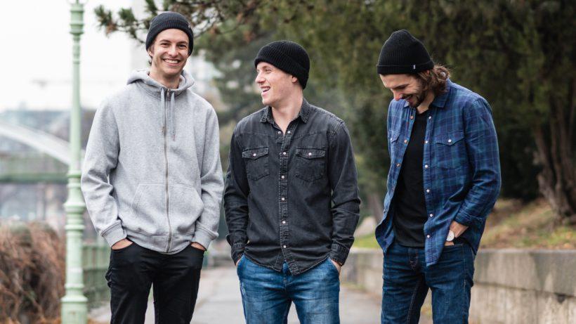Das Timebite-Team: Adrian Sauerwein, Emir Selimovic und Christoph Sprenger. © Timebite