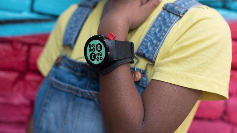 Die Wanderwatch ist für Kinder gedacht. © Wanderwatch
