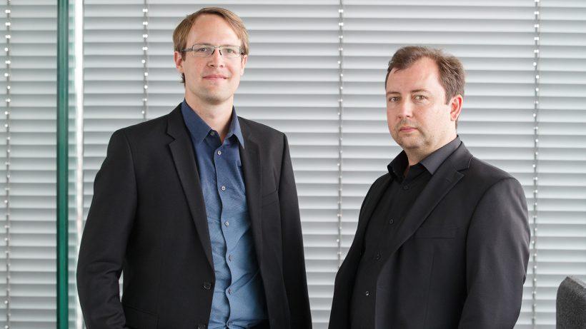 Peter Lasinger und Roman Scharf von capital300. © capital300