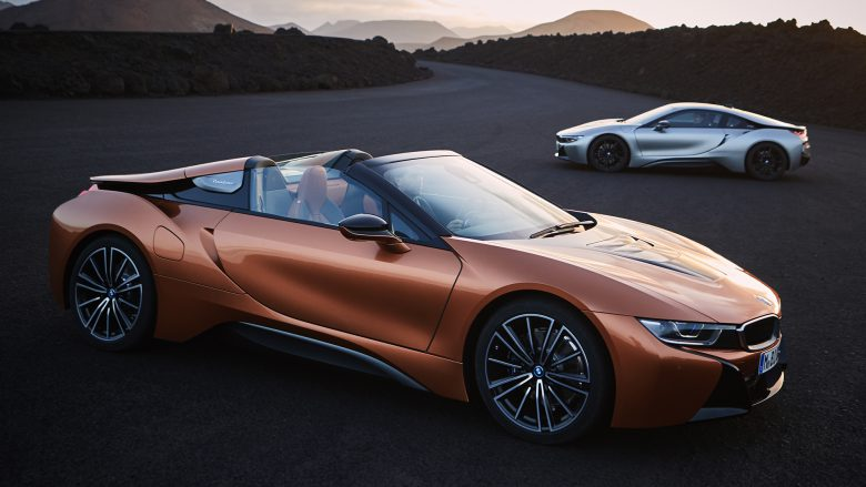 BMW i8 Roadster und BMW i8 Coupé. © BMW Group