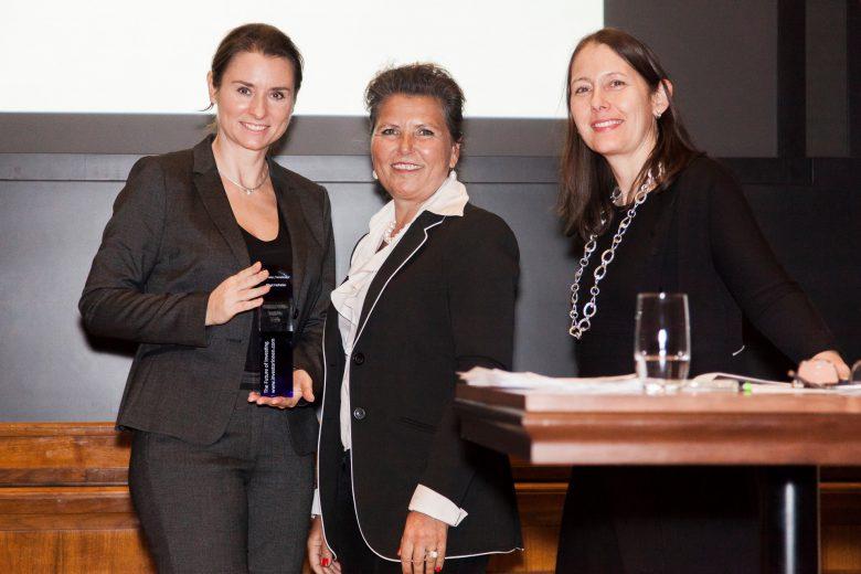 Birgit Hofreiter (l.) vom Innovation Incubation Center (i²c). © Investorinnen.com