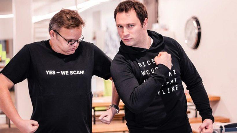Anyline-COO Andreas Greilhuber und Anyline-CEO Lukas Kinigadner. © Anyline