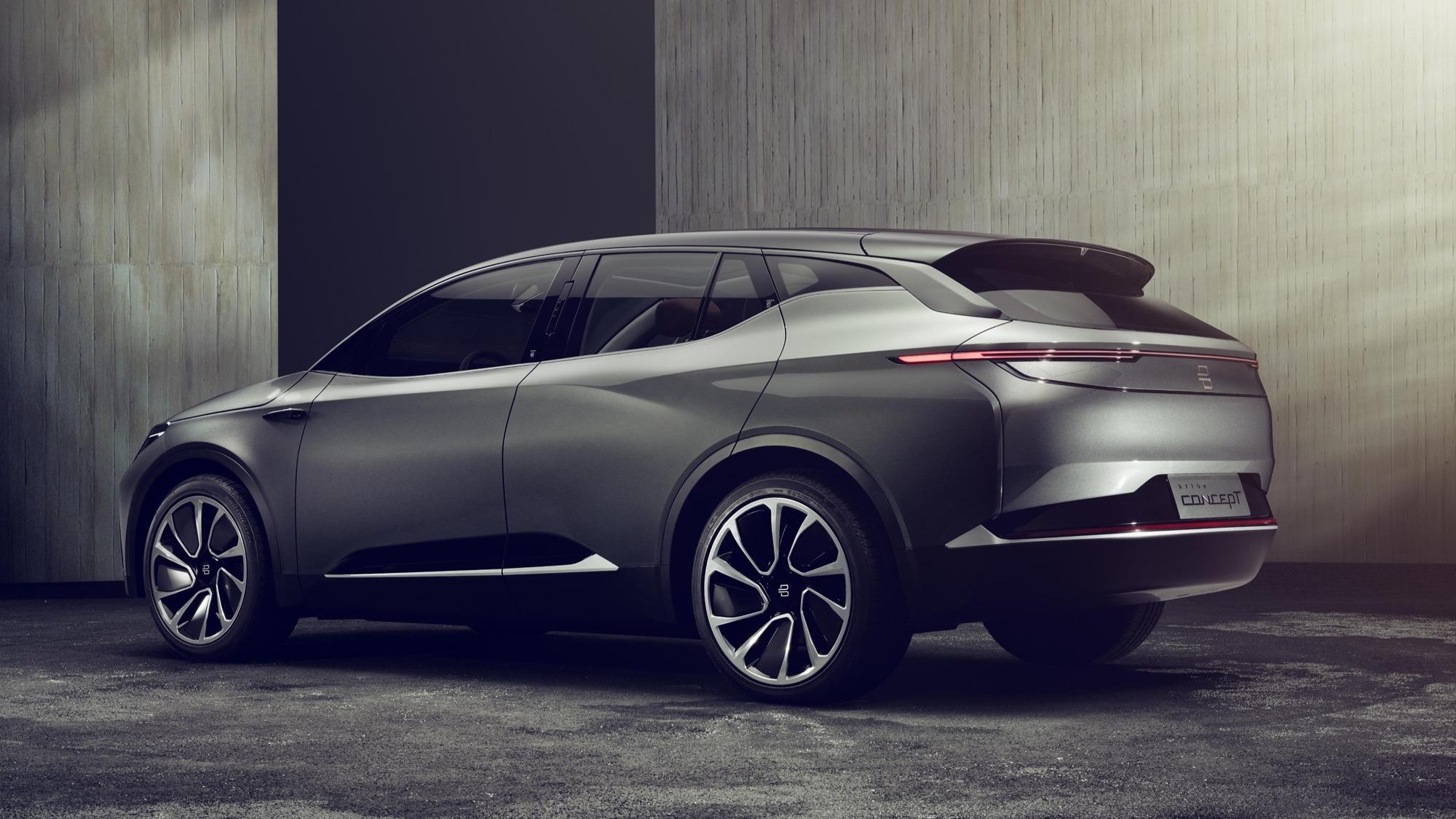 Byton: Chinesischer Elektro-SUV greift BMW und Tesla an
