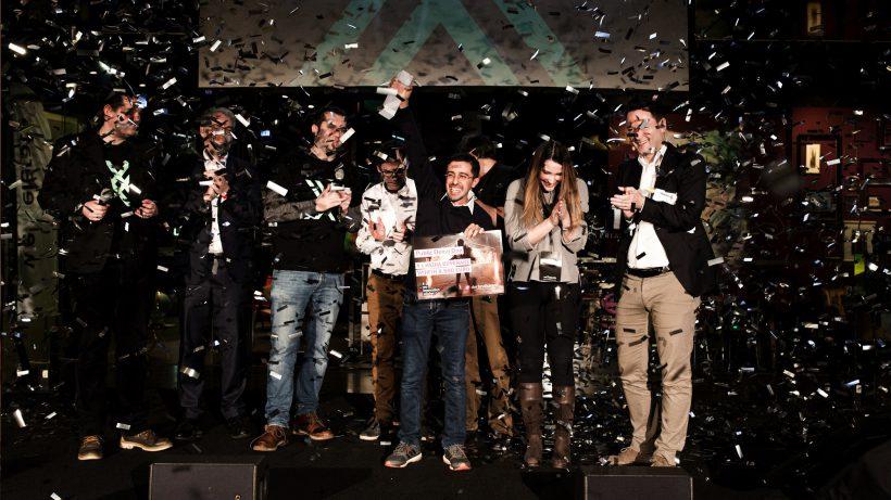 BetterSpot gewinnt der Jury-Preis am ersten Demo Day von weXelerate. © weXelerate