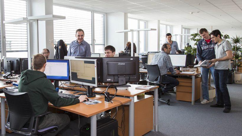 Im Denuvo-Office in Salzburg. © Denuvo