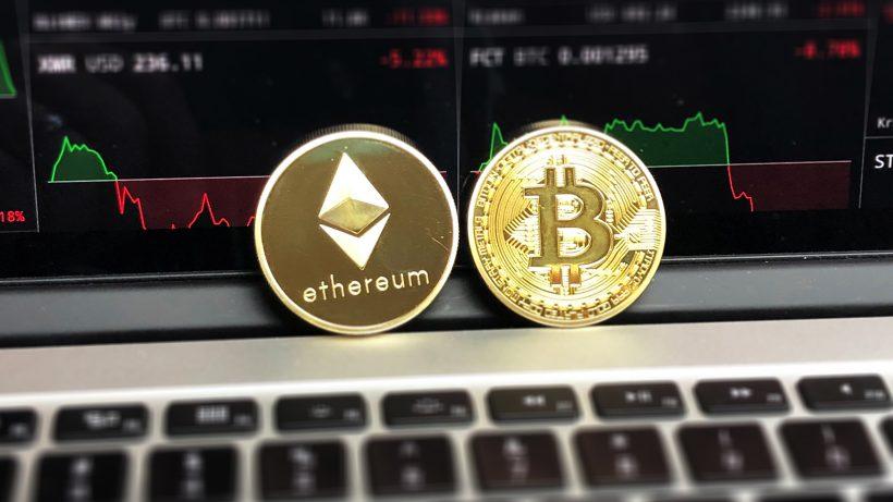 Ethereum und Bitcoin. © Pexels