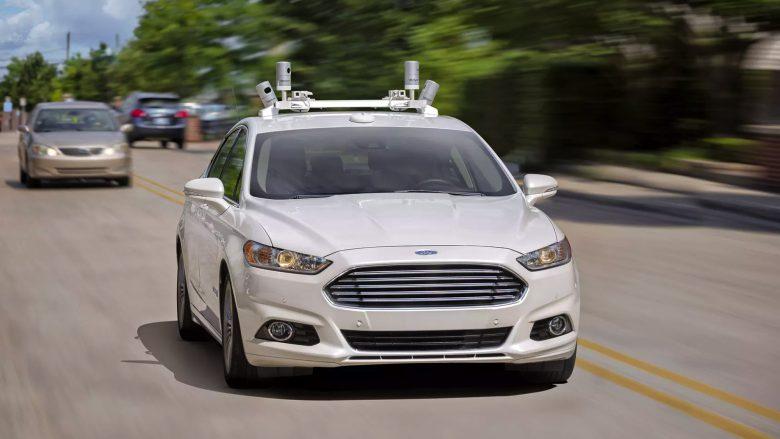 Ford Fusion mit Sensoren. © Ford