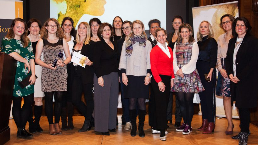 Die Preisträgerinnen der Investorinnen Konferenz 2018. © Investorinnen.com