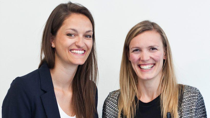Lisa-Maria Sommer und Nina Poxleitner von More Than One Perspective. © Bianca Jakobic