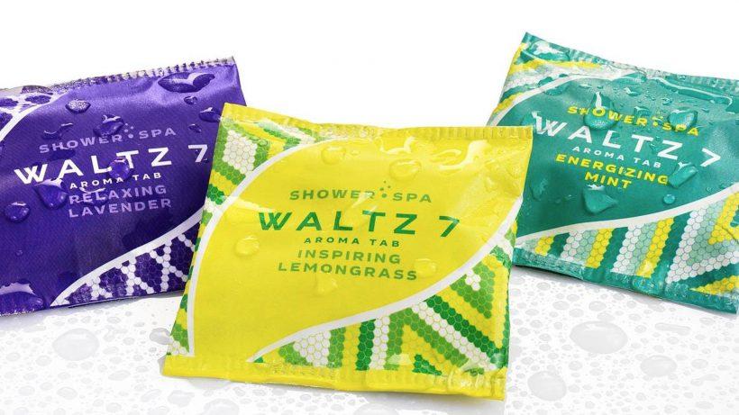 Die Dusch-Tabs von Waltz7. © Waltz7