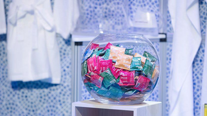 Die Dusch-Tabletten von Waltz 7. © Gerry Franke