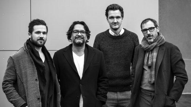 Stefan Stücklschweiger, Mike Fuisz, Thiemo Gillissen und Gernot Leonhartsberger. © moodley