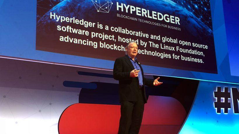 Brian Behlendorf, Executive Director von HyperLedger. © Jakob Steinschaden