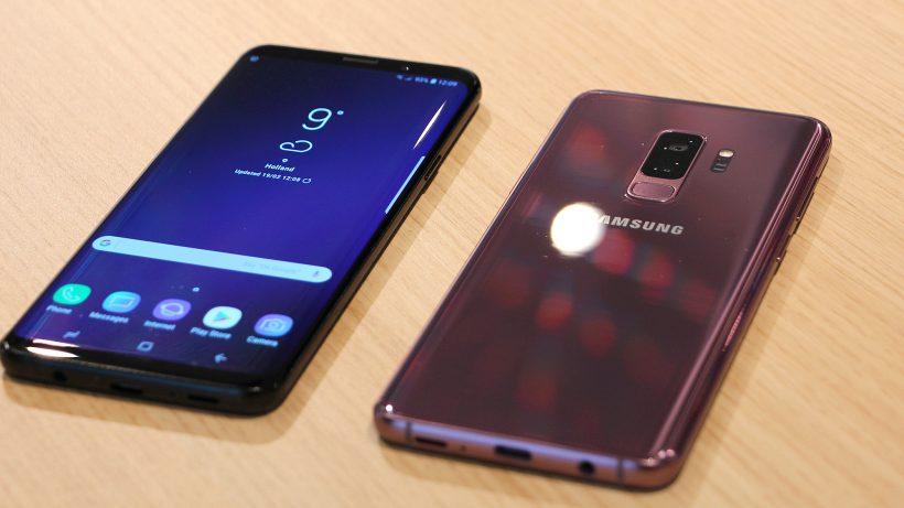 Das Samsung Galaxy S9 in einer neuen Trendfarbe. © Trending Topics