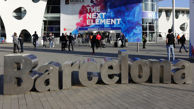 Am Mobile World Congress in Barcelona. © MWC