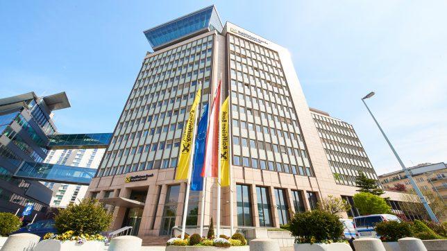 Die RBI-Zentrale in Wien. © S. Klimpt