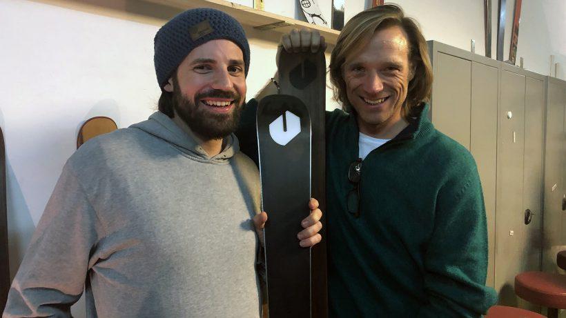 Dominic Haffner (Ünique Skis) und Daniel Keiper-Knorr (Speedinvest). © Jakob Steinschaden