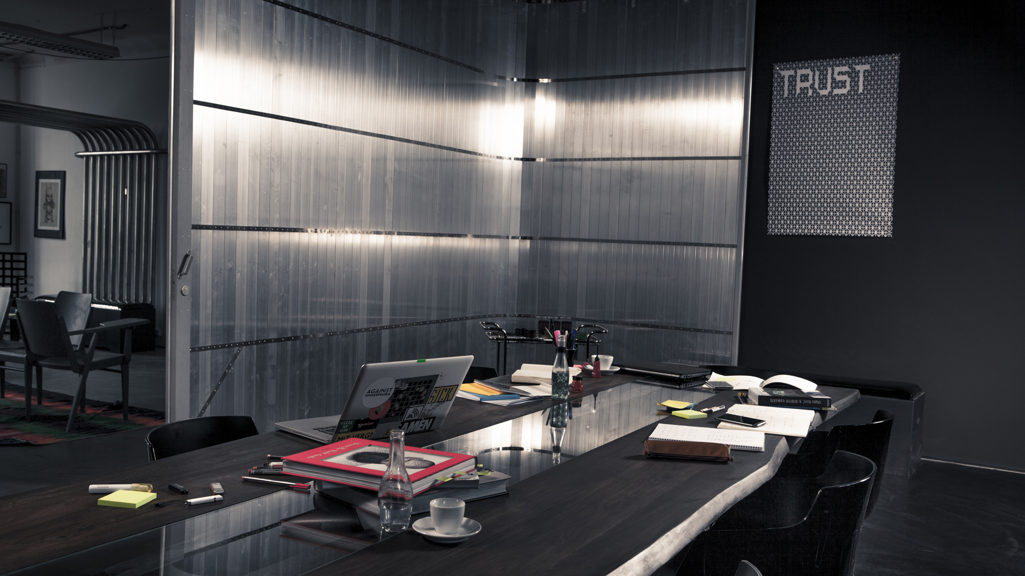 Dieser schicke Meeting-Raum im A1 Startup Campus kann gemietet werden. © A1