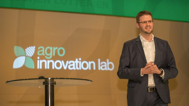 Reinhard Bauer, Geschäftsführer des Agro Innovation Lab. © Wolfography