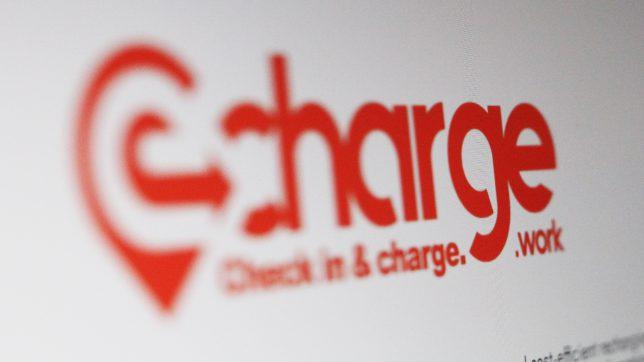 Die eCharge-Webseite. © Trending Topics