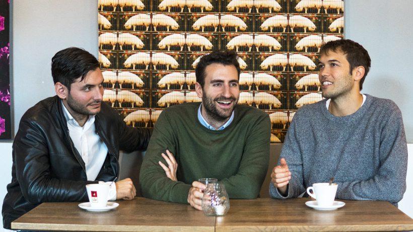 Das neue Team von Delinski: © Delinski