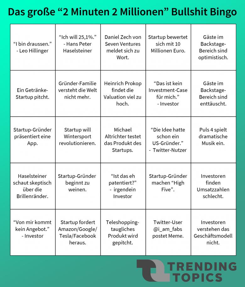 Bingo! © Trending Topics