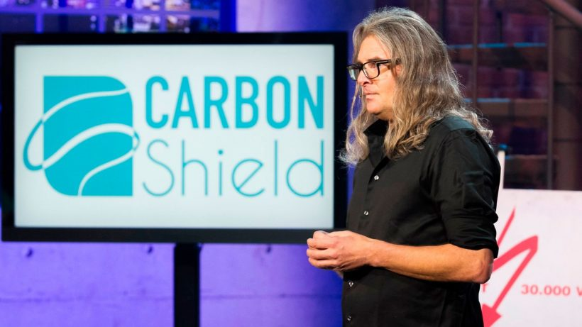 Frank Weerkamp von Carbon Shield. © Gerry Frank