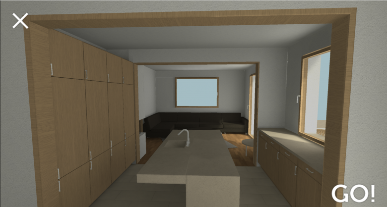 Beispiel einer 3D-Simulation von moxVR. © moxVR