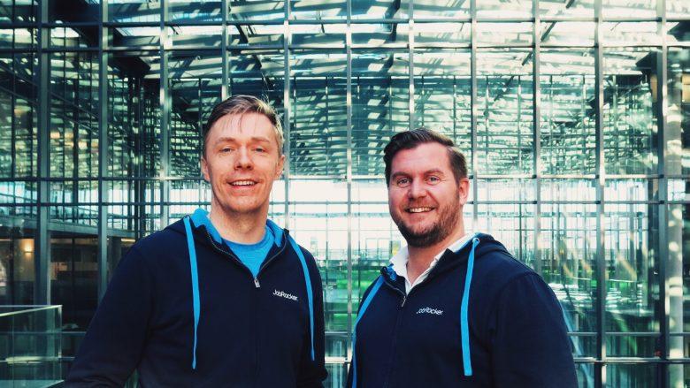 Die JobRocker-Gründer Klaus Furtmüller und Günther Strenn. © JobRocker