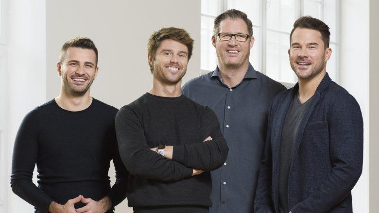 Neoh-Gründerteam: Adel Hafizovic, Manuel Zeller, Patrick Kolomaznik, Alexander Gänsdorfer © Neoh