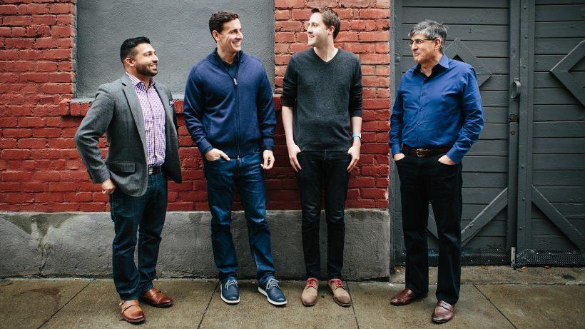 Die Tenor-Gründer Frank Nawabi, Jason Krebs, David McIntosh und Erick Hachenburg. © Tenor