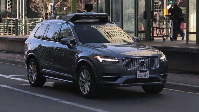 Uber testet autonom fahrende Autos des Typs Volvo XC90. © Jakob Steinschaden