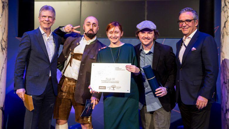 In der Kategorie Learning & Education (Doka) wurde die Arbeit von Polycular ausgezeichnet. © Philipp Benedikt für die Umdasch Group